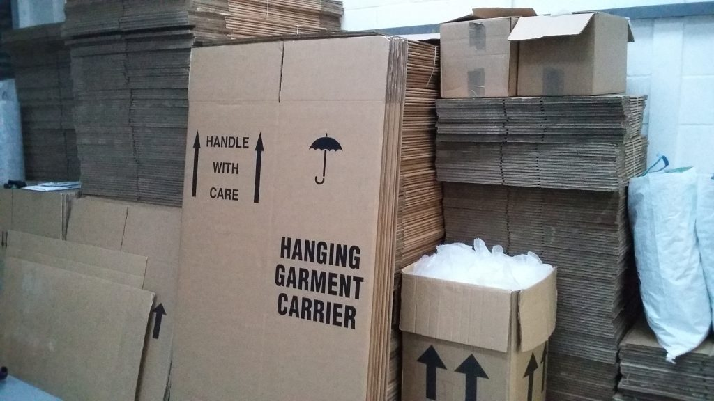 Storage Boxes in Bedfordshire